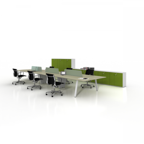 Charter Office Furniture Contract Bench Style Desk
