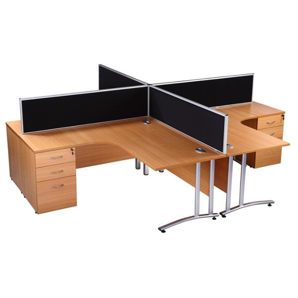 Charter Office Furniture Birmingham Desk Mounted Screens