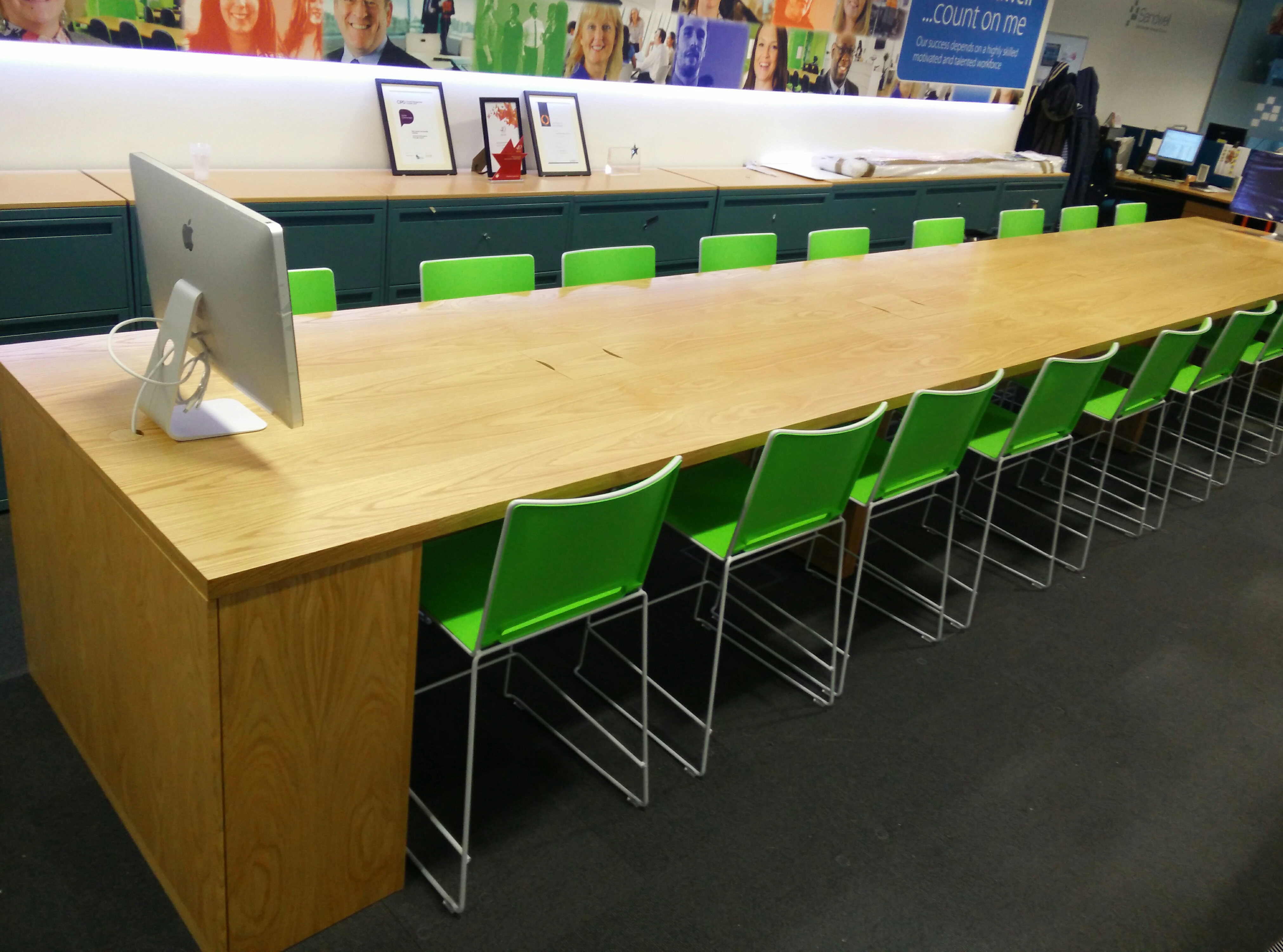 Charter Office Furniture Birmingham Apple Store Style Table