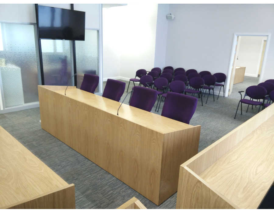 Charter Office Furniture Birmingham Court Room Fit Out