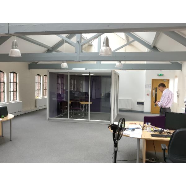 Charter Office Furniture Birmingham Acoustic Meeting Pod